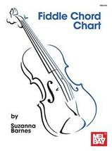 Fiddle Chord Chart  - $6.00