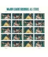 U.S. Major League Baseball All-Stars  Full Sheet  20 Forever Stamps  #46... - £10.11 GBP