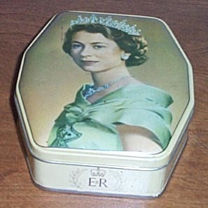 Tin collection elizabeth