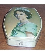 Queen Elisabeth II  Advertising Tin - $353,25 MXN