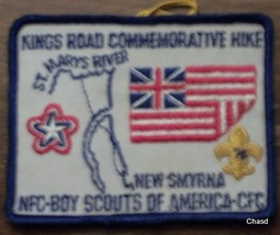 BSA Kings Road Commerative Hike Patch - $5.00