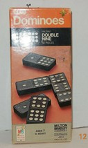 Milton Bradley 1970 Club Dominoes Halsam Double Nine 55 Piece With Box #... - $23.38