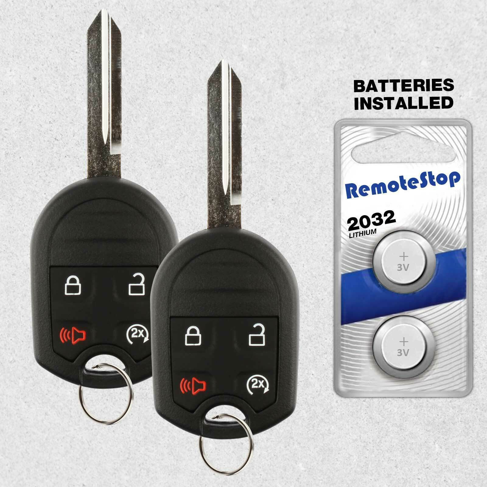 Primary image for 2 For 2011 2012 2013 2014 2015 2016 Lincoln Navigator Keyless Remote Key Fob