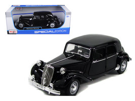 1952 Citroen 15CV 6CYL Black 1/18 Diecast Model Car by Maisto - $39.99