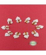 10pcs 3D Acrylic Bow -acrylic flowers-3D nail art - nail charms - nail c... - $23.99