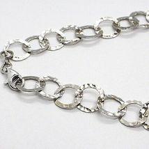 Halskette Silber 925, Koralle, Perlen Grau Handbemalte, Wasserfall, Anhänger image 4