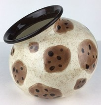 "Cookie Jar Hand Painted Signed Chocolate Chip ""... - $34.64"