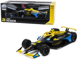 Dallara Indy Car #26 Zach Veach Gainbridge Andretti Autosport NTT IndyCar Series - $97.99
