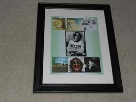 Framed John Lennon Album Cover Poster, Beatles, Plastic Ono 1970-1980, 1... - $29.99