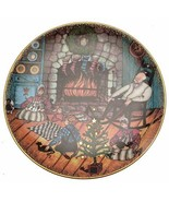 Buckley Moss Anna Perenna plate Christmas Warmth Limited Edition of 7500... - $54.44