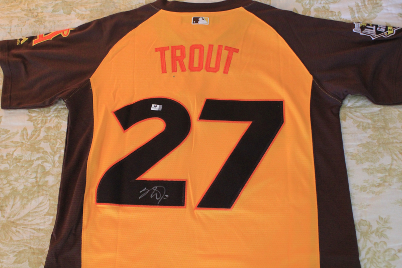 aa1d442fe ... autographed jersey ASG MLB and 50 similar items. Img 6555750208  1535598545