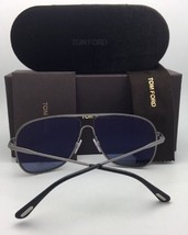 New TOM FORD Sunglasses RONNIE TF 439 48F 60-13 140 Brown & Gold Aviator w/Brown