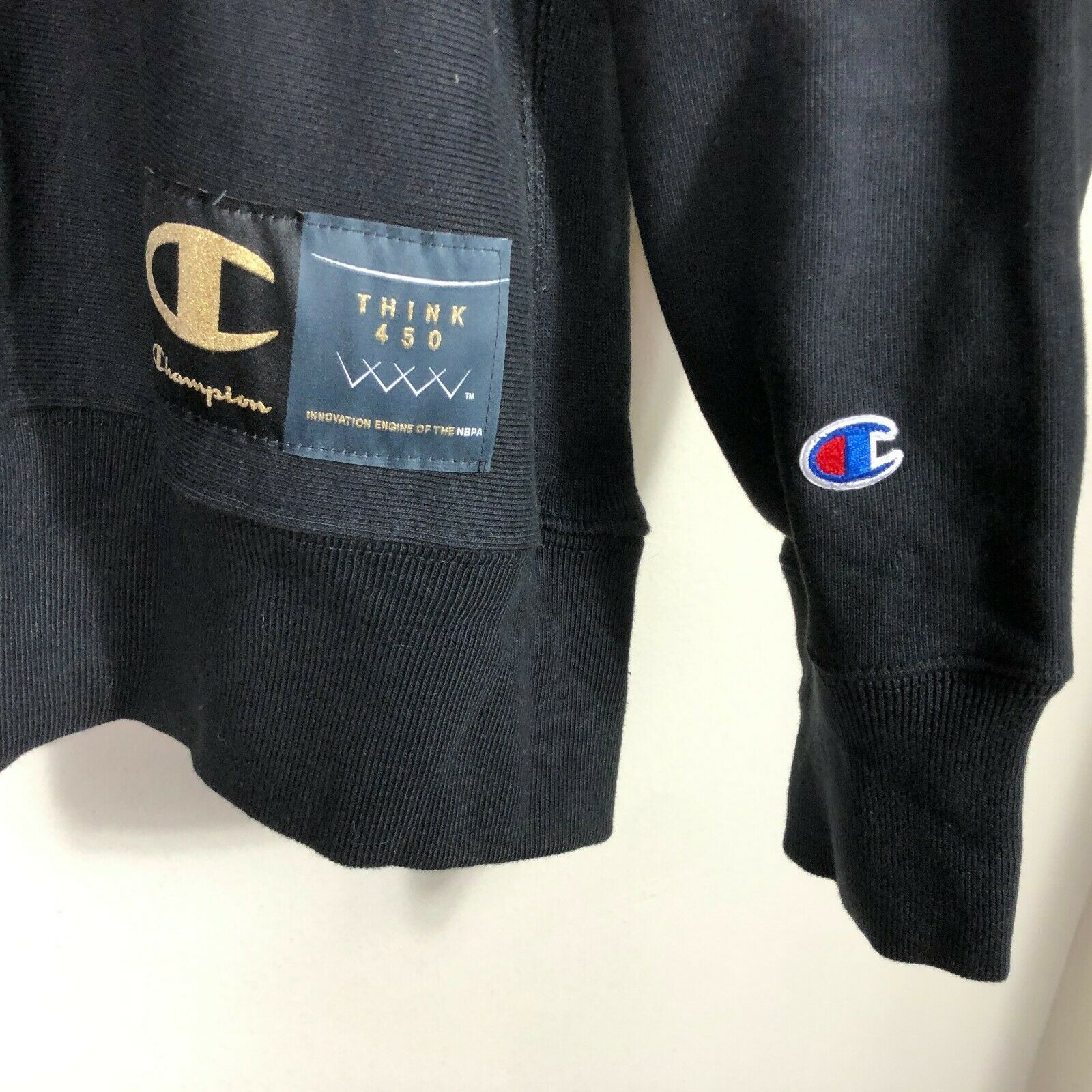 Vintage Champion Crew Neck Reverse Weave Sweatshirt XL NBA NBPA Sweatshirt image 4