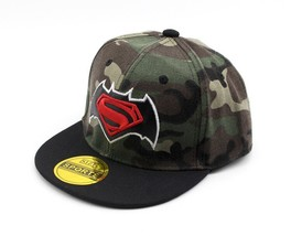 2017 Superman Camouflage spider-man Children Hip Hop Baseball Cap Summer... - $10.86
