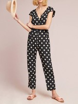 Anthropologie Corey Lynn Calter Wrapped Jumpsuit Polka Dot $188 Sz M - NWT - $110.49