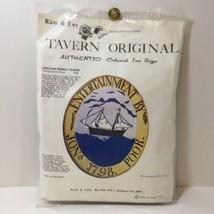 Jonathan Poore's Tavern Crewel Embroidery Kit Tavern Original Colonial I... - $19.34