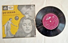 "1957's OLD 45 RPM ""PYAASA MOVIE SONGS""-  ANGEL RECORDINGS , GRAMOPHONE R... - $35.96"