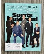 Super Bowl Made For Miami Sports Illustrated Feb 2020 Vol 131 No 1 - $7.97