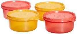 Tupperware Tropical Plastic Container Set, 230ml, Set of 4, Multicolour - $36.85