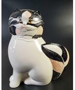 "Vtg Goebel Selim 9.5"" Cat Black and White FREE SHIP - $74.50"