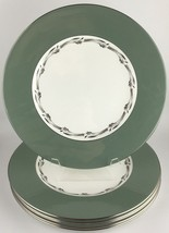 Wedgwood HALFORD (set of 6 ) dinner plates (SKU EC 215) FREE SHIPPING - $100.00