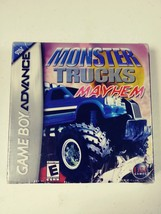 NEW Sealed Monster Trucks Mayhem for Nintendo Game Boy Advance - $12.00