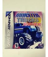 NEW Sealed Monster Trucks Mayhem for Nintendo Game Boy Advance - $11.88