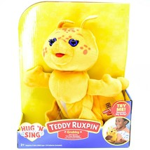 "Hug 'n Sing Teddy Ruxpin Grubby ""It's Your Birthday"" Singing Doll New in Box NIB image 1"