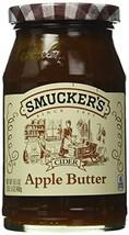 Smucker's  Cider Apple Butter, 16.5000-Ounce Pack of 6