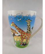 England designer PAUL CARDEW NOAH'S ARK MUG THE ANIMALS WENT IN TWO BY TWO - $6.92