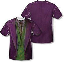 Batman The Joker Dark Knight Costume Sublimation Polyester 2SIDED Shirt S-3XL - $29.50