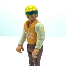 Fisher Price Adventure People action figure toy 1974 Cycle racing team 3... - $17.30