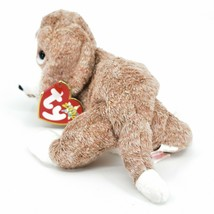 2000 Ty Beanie Baby Sniffer the Bloodhound Puppy Dog Beanbag Plush Doll Toy image 2