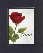 Love. . . 8 x 10 Inches Biblical/Religious Verses set in Double Beveled Matti... - $10.95