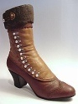 High Buttoned Boot Made 2 Last Like Found in Sears Catalogue Just the Ri... - $29.99