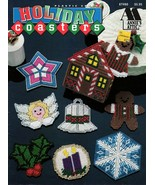 Holiday Coasters in Plastic Canvas by Annie's Attic #87H80 Angel Snowfla... - $6.95