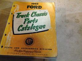 1953 Ford Truck Parts Catalog Catalogue Manual OEM Book CDN missing rear... - $31.86