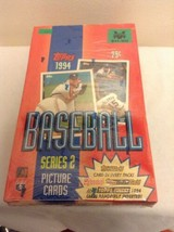 NEW 1994 Topps Baseball Series 2 Box Sealed (36 Packs) - $26.95