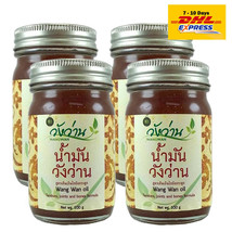 X4 Wang Wan Balm Tendons Joints&Bones Formula Thai Herbal Cream Massage ... - $88.41