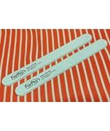 "2 ~ Reusable FOAM BOARD 7"" File Natural & Artificial Nail Toenails 100/1... - $6.92"
