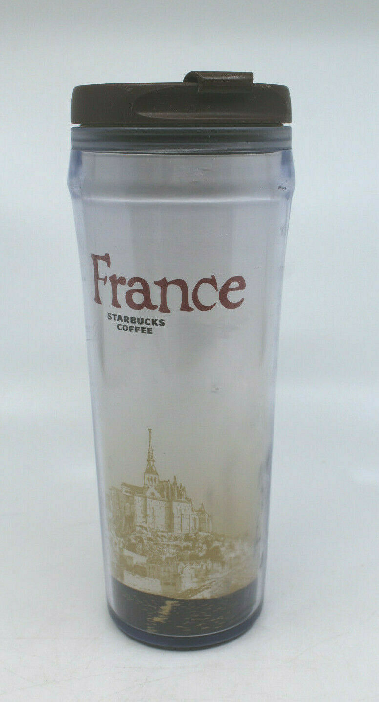 Primary image for Starbucks Coffee Global Icon 2004 France Travel Tumbler 12 oz 355 ml AS-IS
