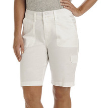Lee Avey Cargo Bermuda Shorts Size 18M New Msrp $44.00 White - $21.99