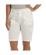 Lee Avey Cargo Bermuda Shorts Size 18M New Msrp $44.00 White - $21.99