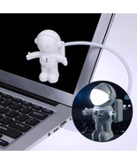 Astronaut Spaceman USB LED Adjustable Night Light Gadgets For Computer P... - $169,87 MXN