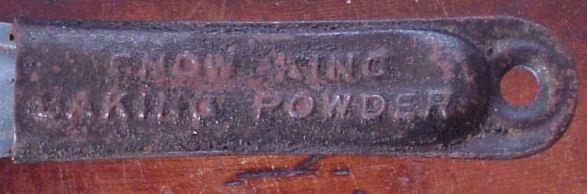 Vintage Snow King Baking Powder Frying Pan Skillet Advertising Item