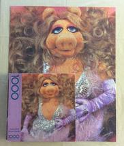 Vintage Springbok puzzle America's Heartthrob 1000 piece Miss Piggy 1981... - $12.00