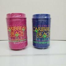 2 Aladdin Disney Blue & Pink Caribbean Beach Resort Plastic Mugs Cups w/Lids NEW - $49.72