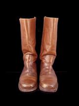 """Frye Vintage 70s Campus Boot 9D Original Black Label 2955 14"""" Need Heel Repair - $47.52"""