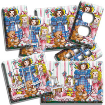 COUNTRY DOLLS RETRO TOYS TEDDY BEAR LIGHT SWITCH PLATES OUTLET FARM HOUS... - $9.99+