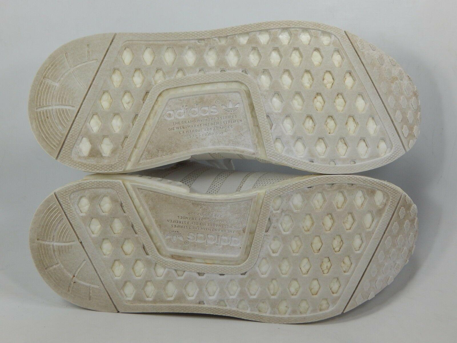 Adidas Nmd R1 Triple Blanco Talla 5M (y) Eu 37 1/3 Juventud